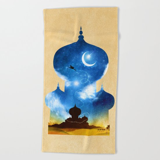 A Wondrous Place Beach Towel