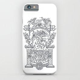 Satanic Rock iPhone Case