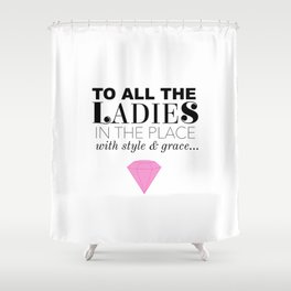 Biggie - Style & Grace Shower Curtain
