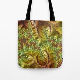 Fall Days - Fractal Art Tote Bag