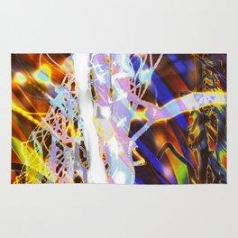 Light Dance - Rainbow Light Painting Rug