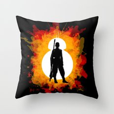 Awaken Throw Pillow