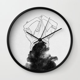 Its better to disappear. Wall Clock