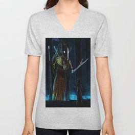 In The Temple Unisex V-Neck