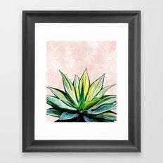Agave V2 #society6 #buyart #lifestyle #artprint Framed Art Print