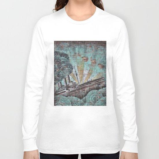 the boat wall Long Sleeve T-shirt