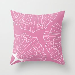 Flor de primavera 2 Throw Pillow