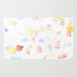 180515 Watercolour Abstract wp 14| Watercolor Brush Strokes Rug