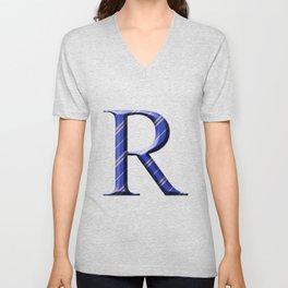 R for Ravenclaw Unisex V-Neck