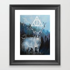 My Patronus is a Stag Framed Art Print