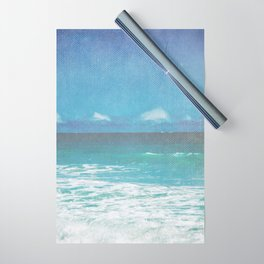 Vintage Hawaii Beach 14 Wrapping Paper