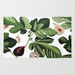Figs White Rug