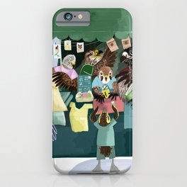 A day in the market iPhone Case
