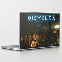 bicycles Laptop & iPad Skins featuring Bicycles   by {she tells stories}
