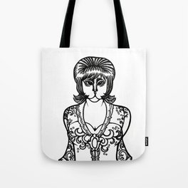 Kebaya Kitty Tote Bag