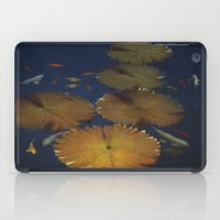 amy pond iPad Cases featuring Koi Pond by TaLins