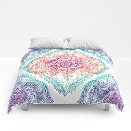 Indian Ink - Rainbow version Comforters