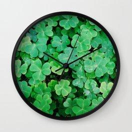 Good Luck Wall Clock