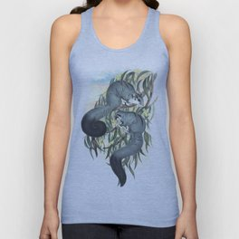 Sugar Glider in the forest of Australia and USA Unisex Tank Top