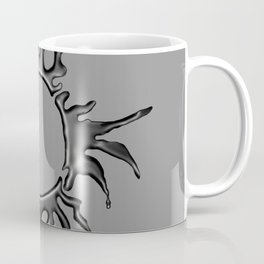 Liquid Sun on Lite Grey Coffee Mug