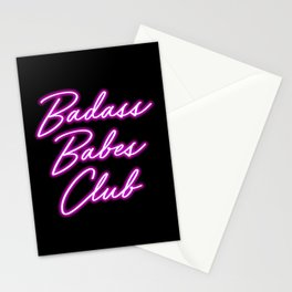Badass Babes Club Stationery Cards