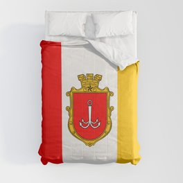 flag of Odessa or odesa Comforters