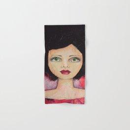 Bella SASS Girl - Cyndi - SASS = STRONG and SUPER SMART Hand & Bath Towel