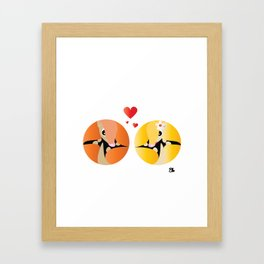 Armadillo Ball Framed Art Print