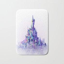 Disneyland Paris Watercolour Castle Bath Mat