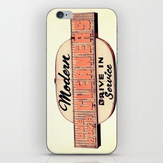 Modern Cleaners iPhone & iPod Skin