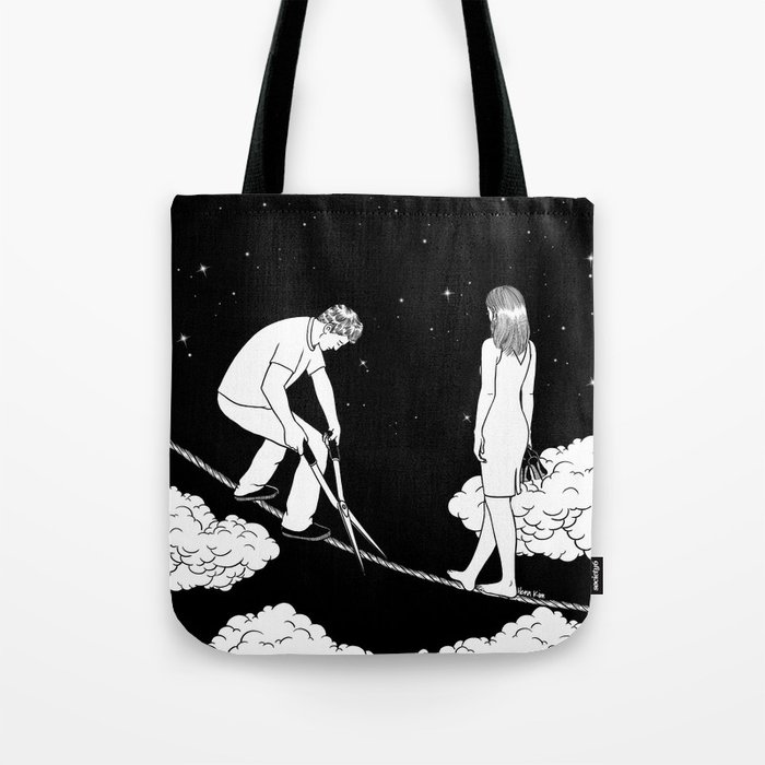 I'm not ready for the final cut Tote Bag