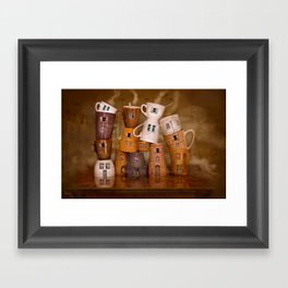 Coffeetime ! Framed Art Print