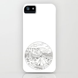 Yurt Dreams iPhone Case