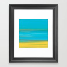 Morning Sea Framed Art Print