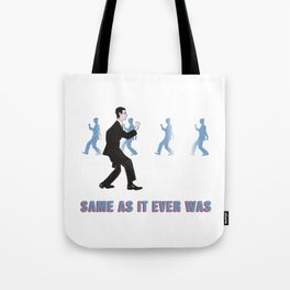 Talking Heads ~ Once In A Lifetime Walk Tote Bag