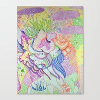 random Canvas Prints featuring Random by Jonathan Seymour