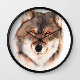 Wolf Trance Wall Clock