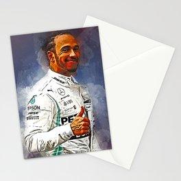 Lewis Hamilton Stationery Cards