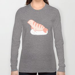 Shrimp nigiri cloud seal Long Sleeve T-shirt