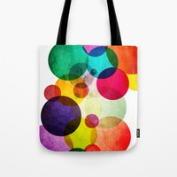 bubbles Tote Bags featuring Bubbles by Lawson Images