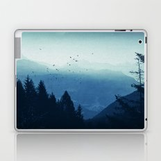 Blue Valmalenco - Alps at sunrise Laptop & iPad Skin