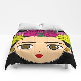 Frida draw Comforters