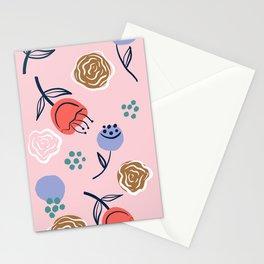 Modern nursery florals Stationery Cards