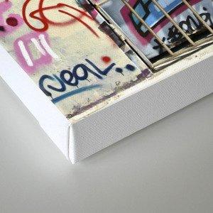 Bondi Graffiti Canvas Print