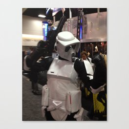 Rock On Scout Trooper, Rock On!!! Canvas Print