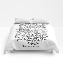 The Lord's Prayer - BW Comforters
