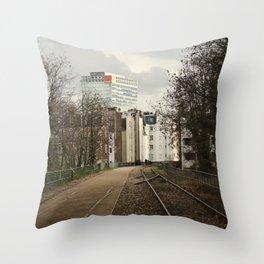 Emmène-moi avec toi // Take me with you Throw Pillow