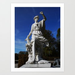 Sculpture on Isle Herrenchiemsee Art Print
