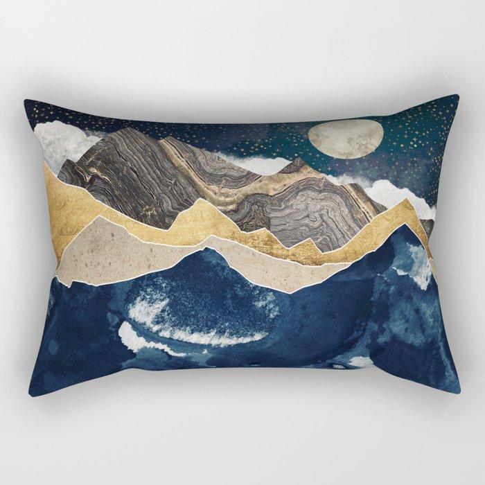 Midnight Winter Rectangular Pillow