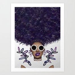 Puff Life Art Print